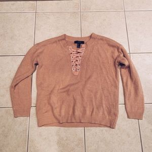 pink sweater from forever 21